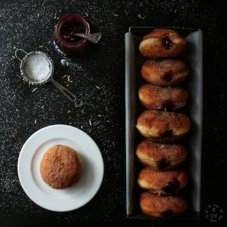 koblihy, kobliha, theolive, theolivecz, foodblog, food, blog, jahodová, marmeláda, domácí, recept, recepty