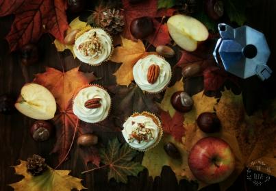 Dýňovo – jablečné cupcakes