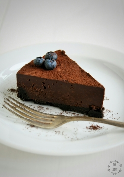 Čokoládový lanýžový dort